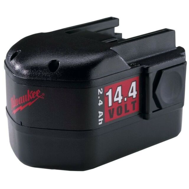 Milwaukee 14.4V NiCd Battery Pack 2.4Ah Slide Style NiCad Replacement OEM Power