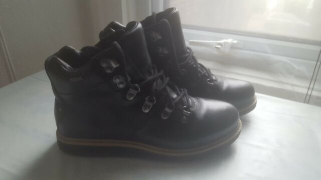 d0586bf5 Clarks Women's Glickasha GTX Boots, Black (Black Leather), 4.5 / 5 UK