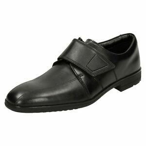 de Zapatos de Willis la escuela Time de los Clarks muchachos pirata Black ww0xqda
