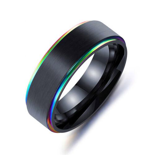 Anillo señores titaniumring anillo anillos señores joyas de acero inoxidable anillos de volframio Titan