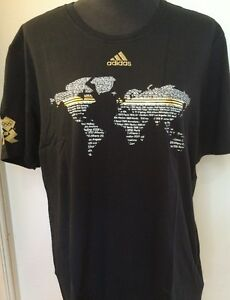 Adidas team gb olympics t shirt adiworld black t shirt world map uk image is loading adidas team gb olympics t shirt adiworld black gumiabroncs