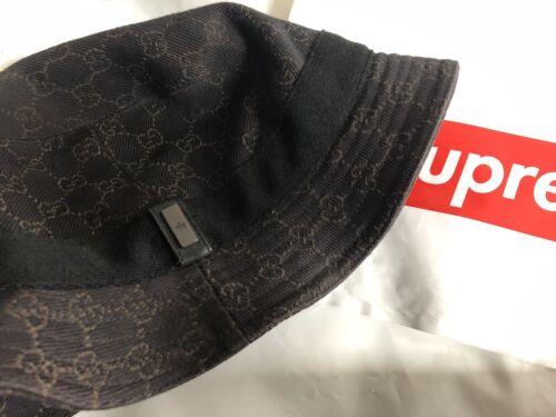 GUCCI BUCKET HAT 100% Authentic Sz Medium