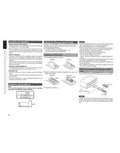denon rc 1068 remote control owners instruction manual ebay rh ebay com denon rc-1068 remote manual denon rc-1068 remote codes