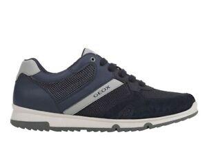 Scarpe-da-uomo-Geox-Wilmer-U023XC-casual-sportive-basse-sneakers-estive
