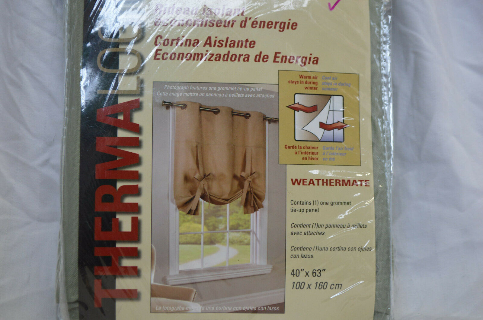 40 by 63 Weathermate Insulated Thermalogic Cotton Tie Ups