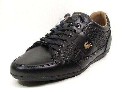 Lacoste Sneakers Mens Chaymon 120 6 Casual Walking Shoes Black 7 39cma00511v7 Ebay
