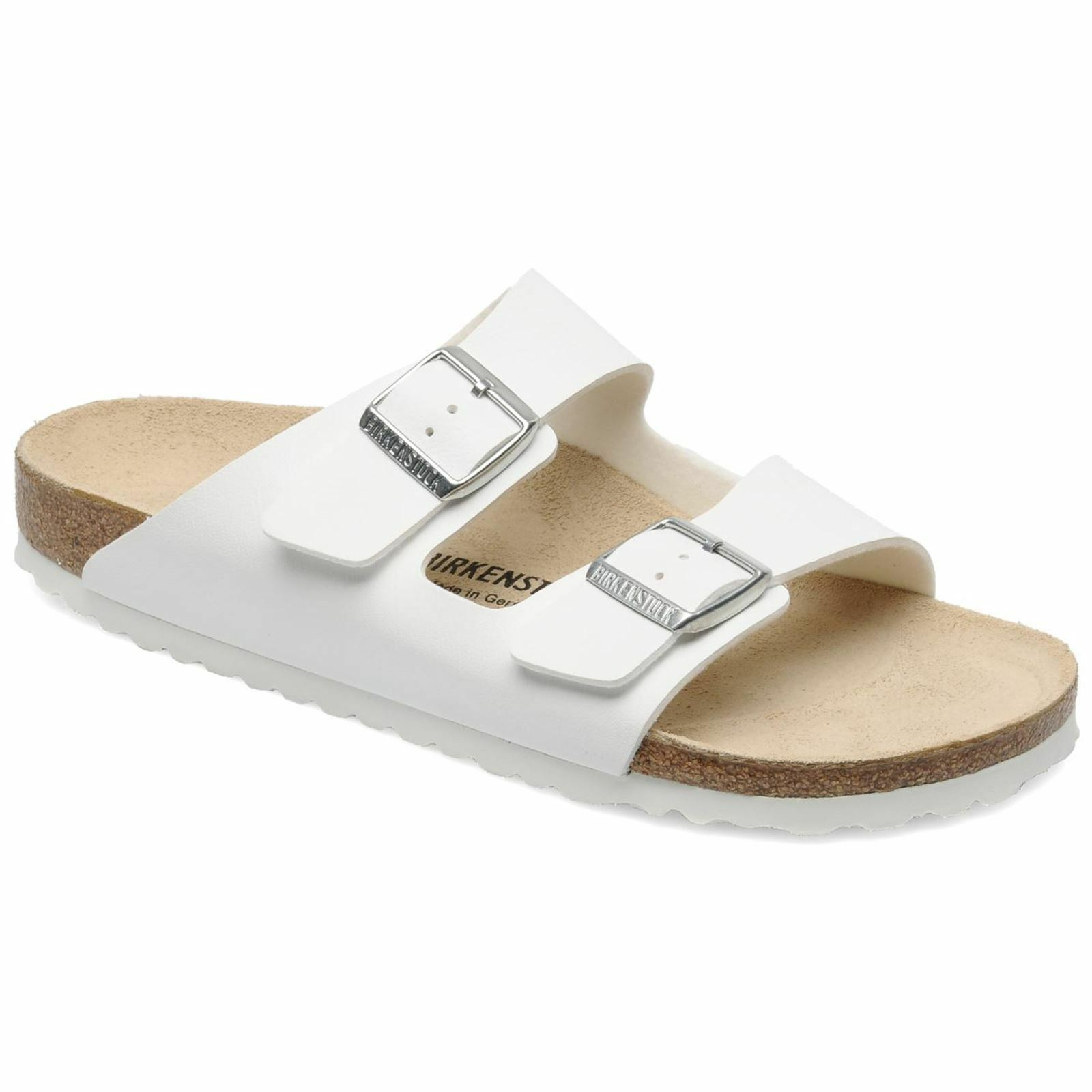 Birkenstock Arizona WEISS WEISS Arizona Synthetic Mens Sandales 2e7488