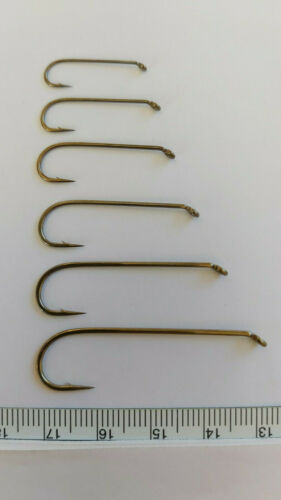 MUSTAD  Streamer Hook  R75-79580  2XH//5XL  Qty 50  Size # 2    Fly Tying Hooks