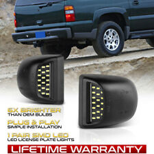 For Chevy Silverado Avalanche 1999 2013 Bright Smd Led License Plate Lights Lamp