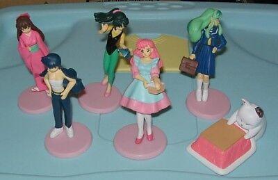 Toys & Hobbies Ladonna Urusei Yatsura Seltene Set 6 Figure Sammlung Hg Part 3 Bandai Gashapon High Standard In Quality And Hygiene