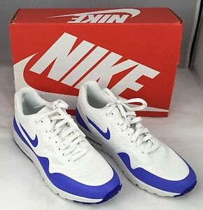 8e70fccee283 Nike Air Max 1 Ultra Moire Womens Size 9 9.5 White violet NIB MSRP ...