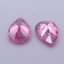 Pear Shape PINK  Cubic Zirconia Stone Synthetic Gems CUBIC ZIRCONIA LOOSE GEMS