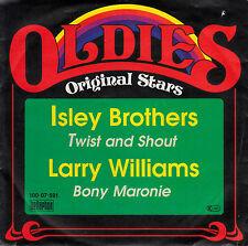 "7"" Single - ISLEY BROTHERS - Twist and Shout / Larry Williams - Bony Maronie"