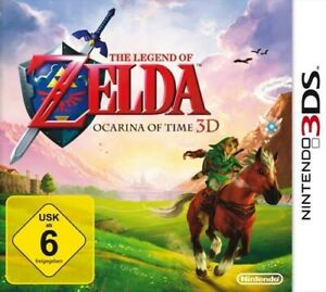 Nintendo 3DS Spiel - The Legend Of Zelda Ocarina Of Time 3D Modul