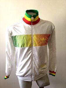 Vintage Adidas Chaqueta Chile Giamaica Rasta Sweatshirt Jacket 62 jqMVpGLSUz