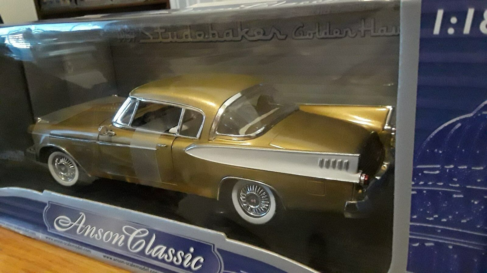 1957 Studebaker oren Hawk or Anson Classic  1 18 Coupe Die Cast Model Car