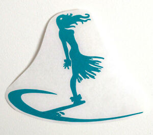 SURFING-decal-surf-body-paddle-BOARD-fins-STICKER-shortboard-surfboard-girl
