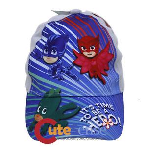 fac39cfeebf PJ Masks Kids Baseball Hat Boys Cap Owlette Cat Boy Gekko Hat - Be a ...