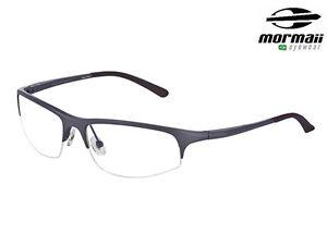 297fa763499d9 Mormaii Mo 203 Unisex Eye Glasses Eyeglass Optic Eyewear Metal Frame ...