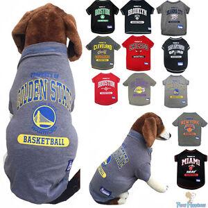 299f9355243 NBA Pet Fan Gear Dog Shirt Dog Tee for Dogs- PICK YOUR TEAM | eBay