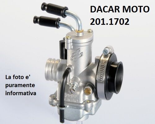 201.1702 CARBURETTOR POLINI WITH FLANGE APRILIA SCARABEO 50 STREET PIAGG