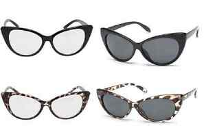 OCCHIALI-DA-SOLE-OCCHIO-DI-GATTO-UOMO-DONNA-SUNGLASSES-MEN-WOMEN-RETRO-VINTAGE