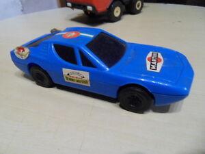 Jouet Reel Sur Carlo Toys Ancien Vintage Romeo Monte Montreal Car Rally Détails Voiture Alfa WIEH2D9