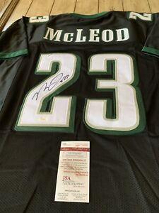 Details about Rodney Mcleod Autographed/Signed Jersey JSA COA Philadelphia Eagles Pro Bowl