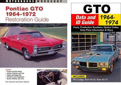 Pontiac Gto 64-74 Restoration Book How To Restore Your Pontiac Gto Book