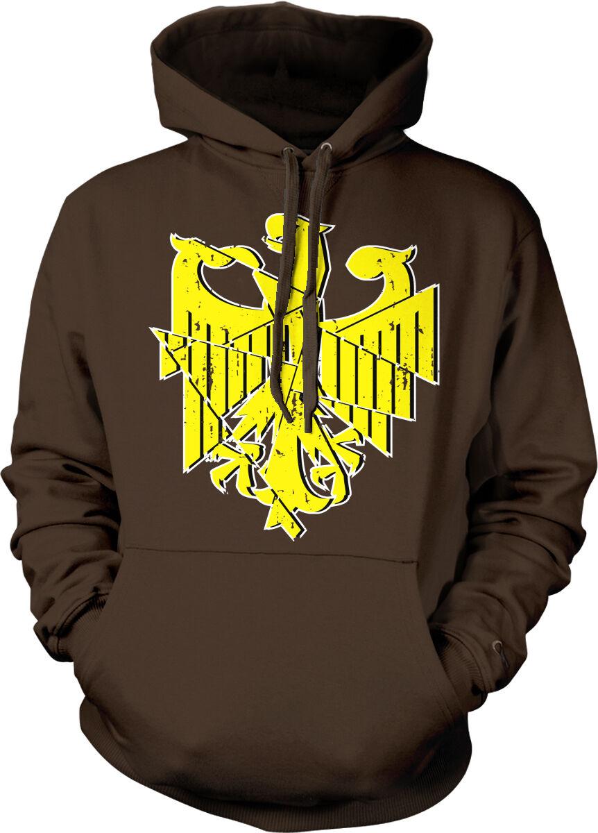 Germany Eagle Bundesadler Deutschland Deutsch German Symbol DE Hoodie Sweatshirt