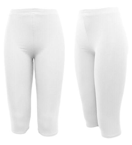 Courte Femmes Leggings 2er Set-légère d/'été-leggings pour robes O Chemise Longue