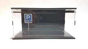 64-CLUB-Acrylic-handmade-LED-display-Box-For-1-64-Tomica-Kyosho-Tarmac