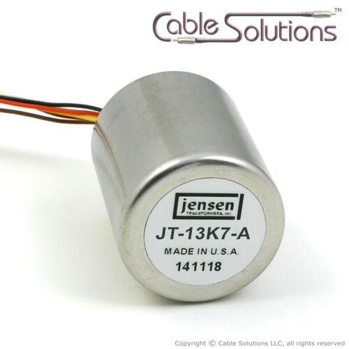1:5 Microphone Input Step-Up Transformer Jensen Transformers JT-13K7-A