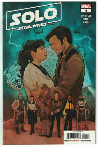 Solo A Star Wars Story #1 Main Cover STOCK PHOTO 2018 Marvel Comics