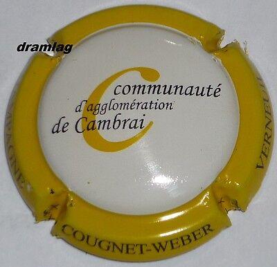 COUGNET WEBER New !! Capsule de Champagne Radio  B.L.C