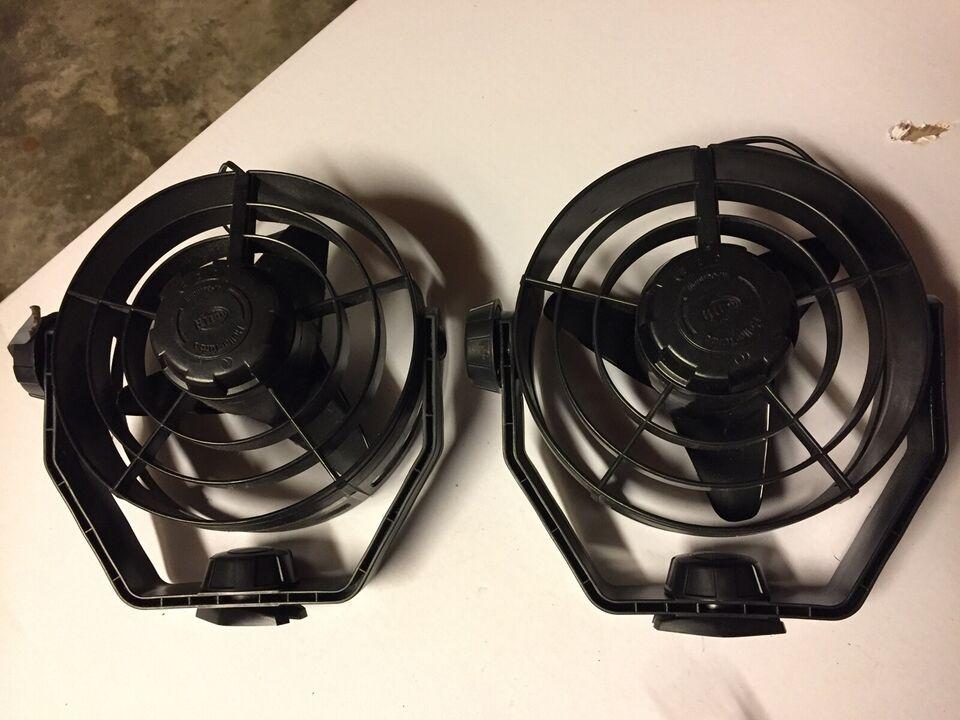Ventilatorer, diverse størrelser: 2 stk Hella T...