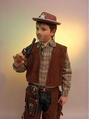 Accurato Cowboyweste - Größe: 152/164 Rapida Dissipazione Del Calore