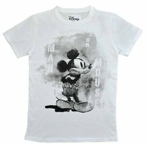 relaunch t shirt mickey mouse schwarz wei 80 86 92 104 116 128 140 152 158 164 ebay. Black Bedroom Furniture Sets. Home Design Ideas