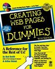 For Dummies: Creating Web Pages for Dummies by Bud E. Smith (1999, CD-ROM / Paperback)