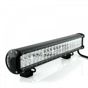 LED-HIGH-BEAM-SPOT-LIGHT-WORK-LIGHT-ATV-4x4-ROAD-LIGHT-126W-EQUIVALENT-TO-1260W