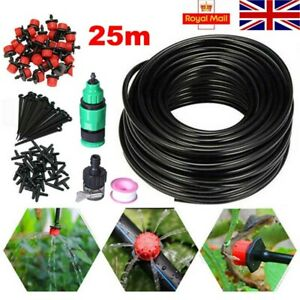 Micro Irrigation Self Watering Automatic Garden Plant Greenhouse Drip System Kit