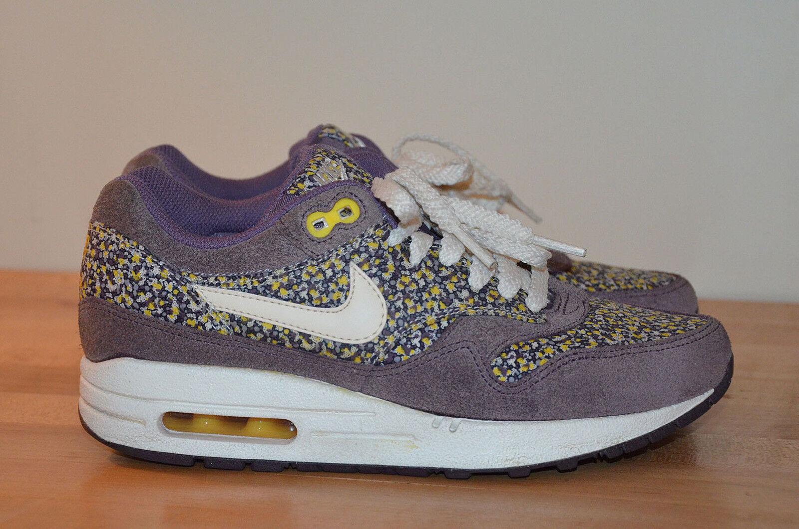 Nike Liberty Of London Air Max 1 ND LIB Plum Floral Sneakers 528712-501 sz 5