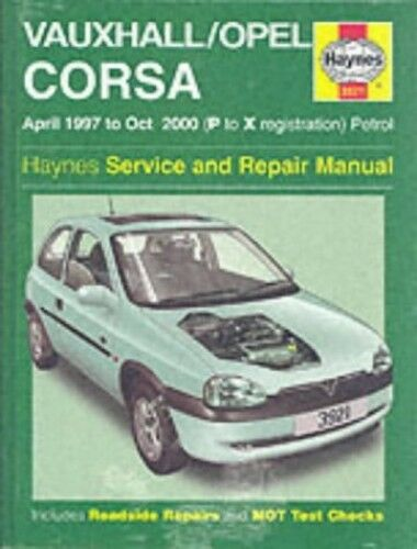 1 of 1 - Vauxhall/Opel Corsa Service and Repair Manual: 19... by Mead, John S. 185960921X