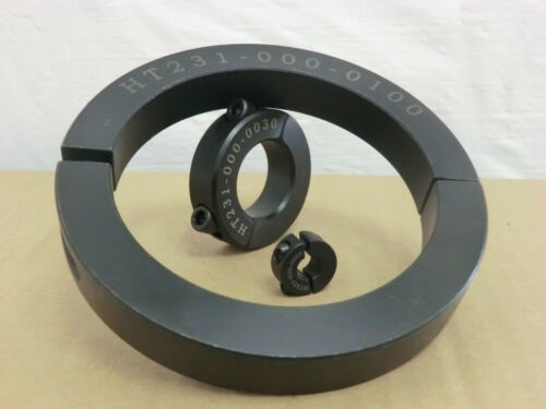 Stellringe geteilt für Wellen ø 10 mm 75 mm aus Aluminium Klemmringe