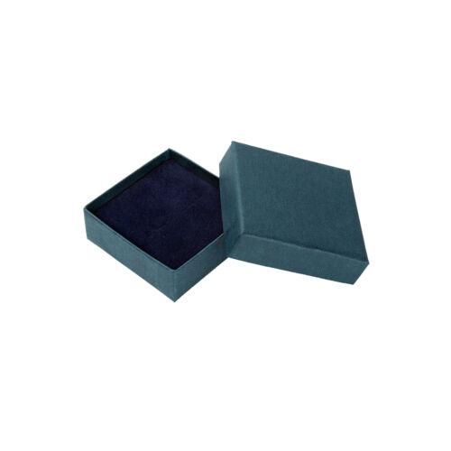 Pernos Caja De Regalo De 9 quilates de oro 3 Mm Daisy Flor Lila Cristal Cz Aretes