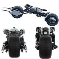 BATMAN THE DARK KNIGHT BAT-POD Building Blocks Set Figure Hero Motorcycle New