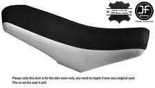 Blanco y Negro se adapta RIEJU MRT 50 Dual Custom piel cubierta de asiento