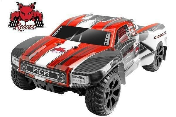 Redcat Blackout SC PRO Brushless Electric 4WD 1/10 RC Short Course Truck  RTR Red