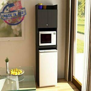 Mini Fridge Storage Cabinet Microwave, Mini Fridge Microwave Cabinet For Dorm