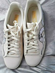 Details about puma clyde snake embroidery 36811101 size 11 mens